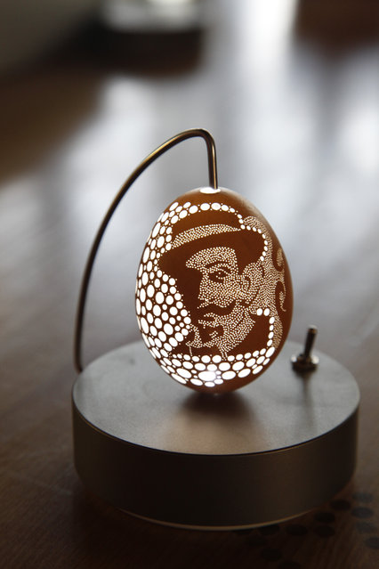 Egg Sculptures By Franc Grom