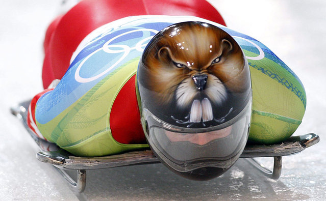 Awesome Helmet  On Sochi Olympics 2014