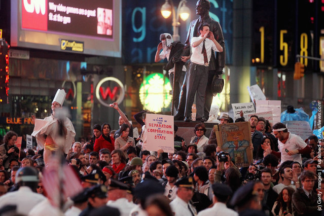 Wall Street Protests In USA