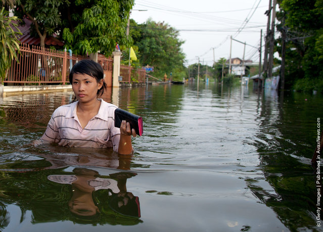 Flooding Threatens Downtown Bangkok