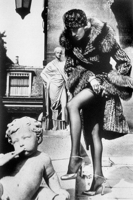 Tomb of Talma. (Photo by Helmut Newton)