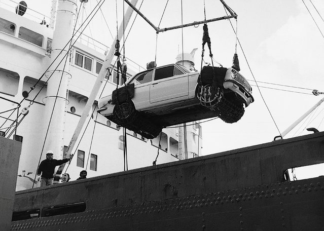 Toyota Motor Corp's Corolla car is exported to overseas countries for the first time in 1966, is seen in this undated handout image  released by Toyota Motor Corporation, obtained by Reuters on November 4, 2016. (Photo by Reuters/Toyota Motor Corporation)