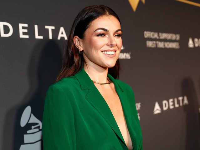 Actress Serinda Swan attends Delta Air Lines official Grammy event featuring private performance and interactive evening with Halsey at Beauty & Essex, adjacent to the new Dream Hollywood to celebrate the 59th Annual GRAMMY Awards on February 9, 2017 in Los Angeles, California. (Photo by Rich Polk/Getty Images for Delta Air Lines)
