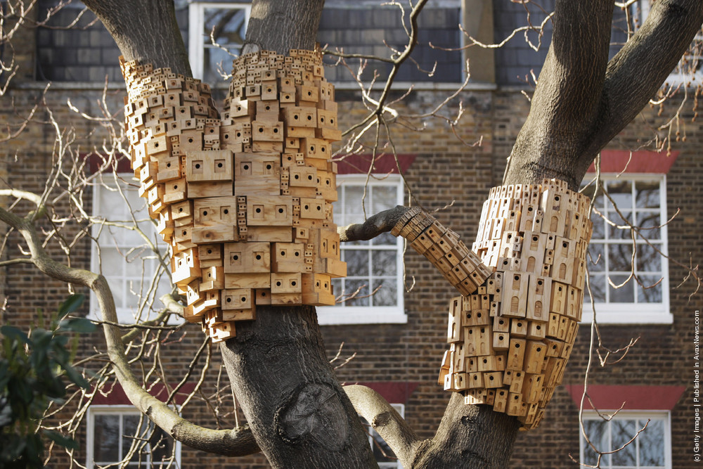 Artists Create Bird Boxes To Reflect Their Surrounding