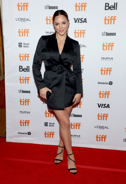 "Katherine McPhee attends the ""David Foster: Off The Record"" premiere during the 2019 Toronto International Film Festival at The Elgin on September 09, 2019 in Toronto, Canada. (Photo by Jemal Countess/WireImage)"