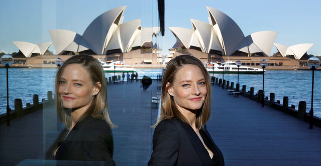 Actress and director Jodie Foster poses for a photograph in Sydney,  Australia, during a promotion for her film Money Monster, May 30, 2016. (Photo by David Moir/Reuters/AAP)