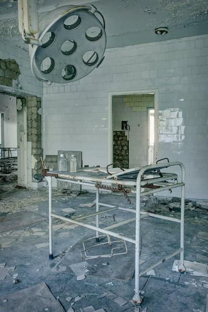Ukraine, Chernobyl Hospital. (Photo by Rebecca Bathory)