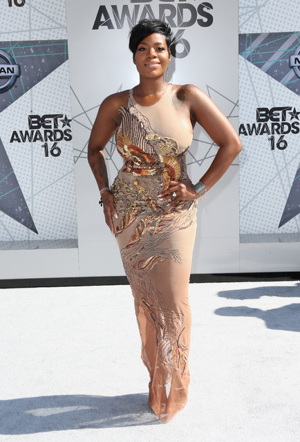 Singer Fantasia Barrino attends the 2016 BET Awards at the Microsoft Theater on June 26, 2016 in Los Angeles, California. (Photo by Frederick M. Brown/Getty Images)