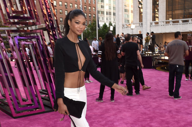 Model Chanel Iman  attends the VH1 Hip Hop Honors: All Hail The Queens at David Geffen Hall on July 11, 2016 in New York City. (Photo by Nicholas Hunt/Getty Images for VH1)