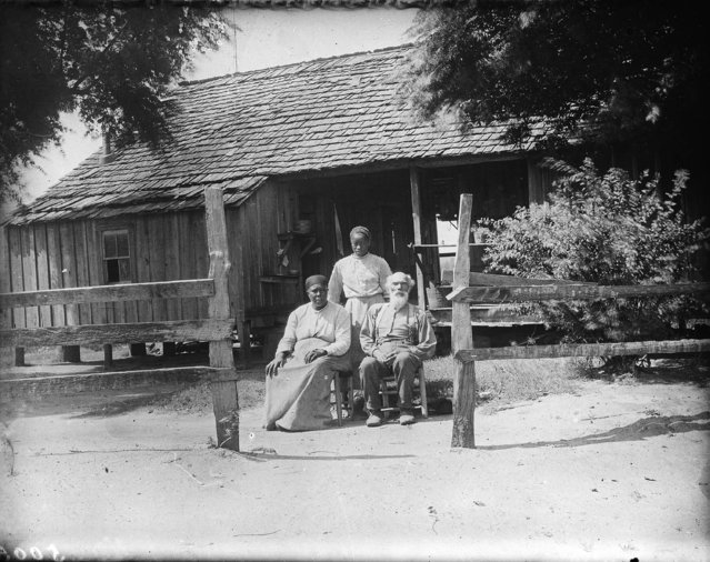 """The Sam McCall family of Wilcox County, Alabama"",  1910. (Photo by M. A. Crosby)"
