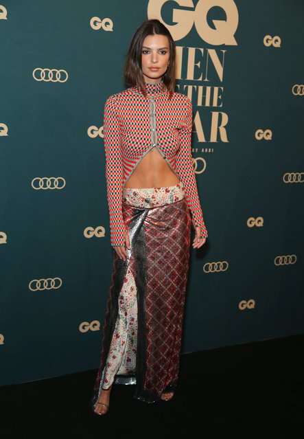 Emily Ratajkowski attends the GQ Australia Men of The Year Awards at The Star on November 14, 2018 in Sydney, Australia. (Photo by Don Arnold/WireImage)