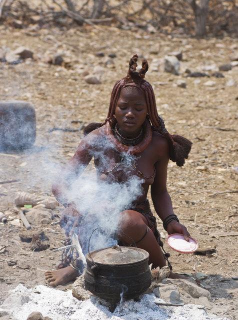 Himba Beauty Girl. Photo by Giovanni Sequino