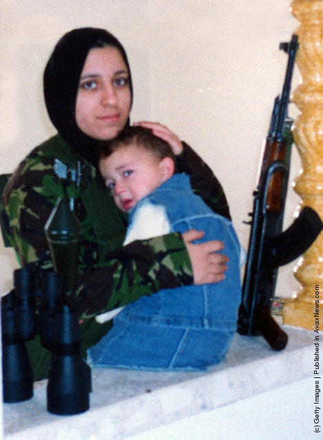 Reem Riyashi, a Palestinian mother of two from Gaza City who killed herself and four Israelis in a suicide bombing attack