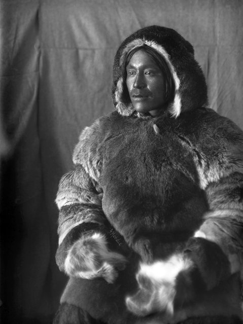 She took portraits of the local Inuit people, while he documented the landscapes he found during his police patrols. Here: Inuit man, Toopealock, of the Kinepetoo, Fullerton Harbour, Nunavut, c.1904-05. (Photo by Geraldine Moodie/The Guardian)