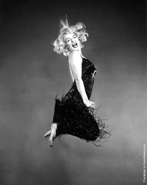 Marilyn Monroe, 'Jumpology', 1959. Photo by Philippe Halsman