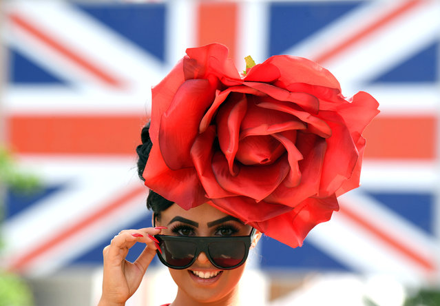 Racegoers attend Royal Ascot Ladies Day 2017 at Ascot Racecourse on June 22, 2017 in Ascot, England. (Photo by Stuart C. Wilson/Getty Images)