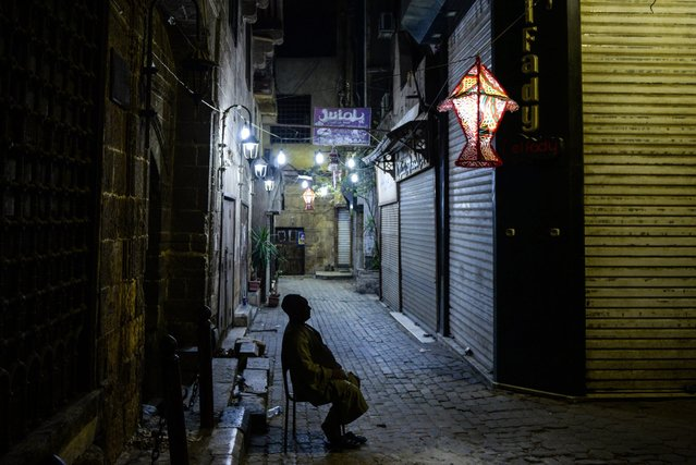 A picture made available on 13 June 2016 showing Ramadan decoration at al-Maqses alley in al-Hussein area, Cairo, Egypt, 09 June 2016. Egypt is famous for its colorful decorations during the holy month of Ramadan. Muslims around the world celebrate the holy month of Ramadan by praying during the night time and abstaining from eating and drinking during the period between sunrise and sunset. Ramadan is the ninth month in the Islamic calendar and it is believed that the Koran's first verse was revealed during its last 10 nights. (Photo by Mohamed Hossam/EPA)