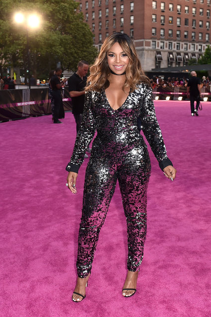 Singer Ashanti attends the VH1 Hip Hop Honors: All Hail The Queens at David Geffen Hall on July 11, 2016 in New York City. (Photo by Nicholas Hunt/Getty Images for VH1)