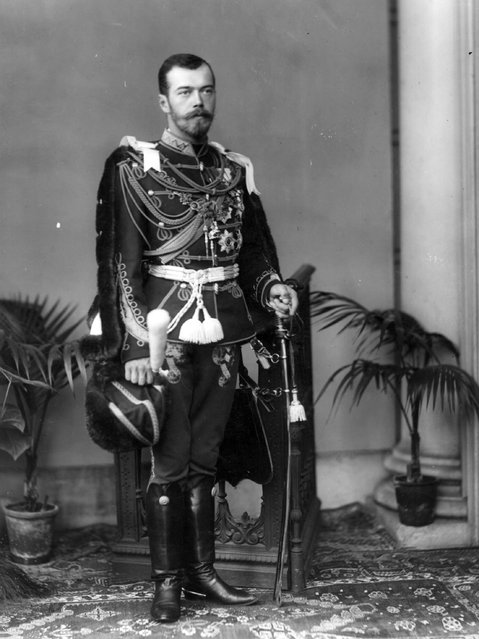 Tsar Nicholas II of Russia (1868–1918) who was shot with his entire family by the Red Guards at Yekaterinburg, circa 1910.  (Photo by W. & D. Downey)