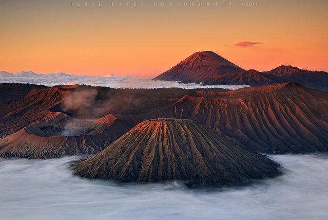 Mount Bromo – East Java, Indonesia. (Jesse Estes)