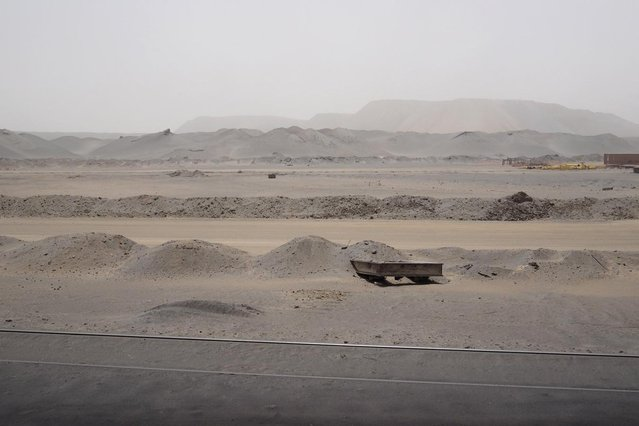 The Guelb mine site is seen in Zouerate June 24, 2014. (Photo by Joe Penney/Reuters)