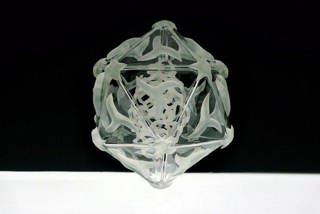 Luke Jerram's Glass Microbiology Sculptures