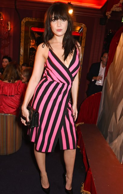 Daisy Lowe attends the LOVE Magazine and Marc Jacobs LFW Party to celebrate LOVE 16.5 collector's issue of LOVE and Berlin 1989 at Loulou's on September 19, 2016 in London, England. (Photo by David M. Benett/Dave Benett/Getty Images for LOVE/CONDE NAST)