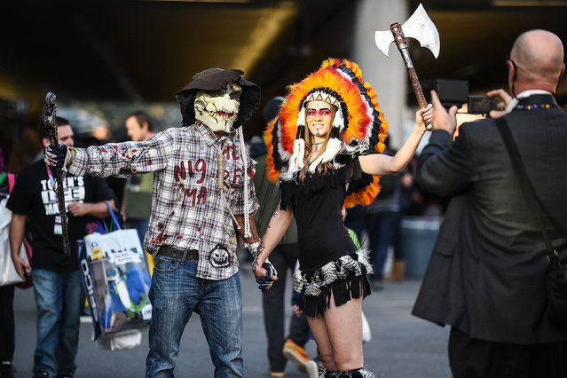 A general view of atmosphere during 2016 New York Comic Con – Day 1 on October 6, 2016 in New York City. (Photo by Daniel Zuchnik/Getty Images)