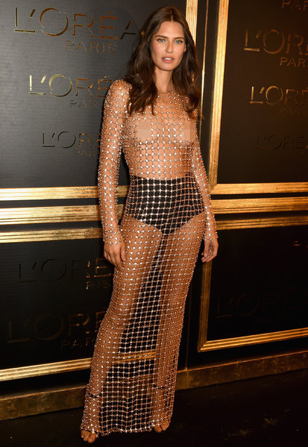 Italian model Bianca Balti attends the L'Oreal Paris Gold Obsession Party at Hotel de la Monnaie on October 2, 2016 in Paris, France. (Photo by David M. Benett/Dave Benett/ Getty Images for L'Oreal Paris Gold Obsession)