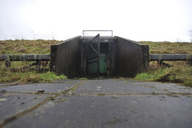 A path leads to the entrance of a former Regional Government HQ Nuclear bunker built by the British government during the Cold War which  has come up for sale in Ballymena, Northern Ireland on February 4, 2016. (Photo by Clodagh Kilcoyne/Reuters)