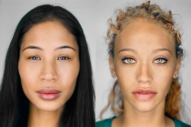 What face does America show the world? The answer used to be more black and white. But today more and more people are of mixed heritage. In the 2000 census, when a multiple-race option appeared for the first time, 6.8 million Americans checked it off. Ten years later that number grew by 32 percent. (Photo by Martin Schoeller/National Geographic)