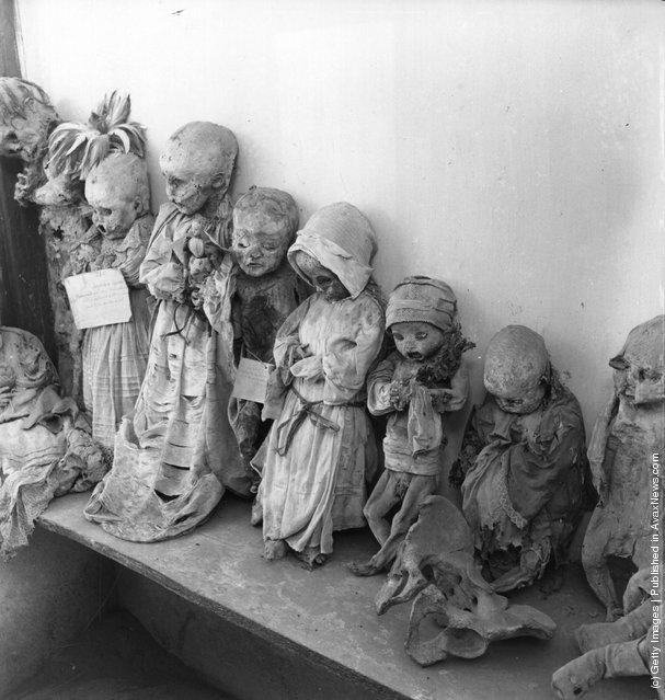 Mummified infants