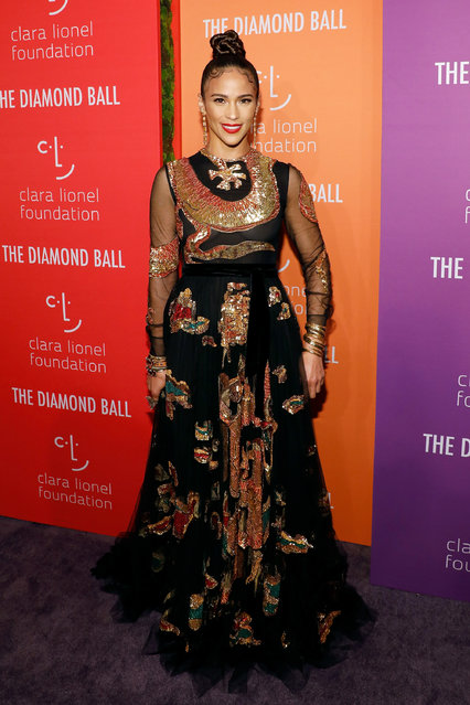 Paula Patton attends the 5th Annual Diamond Ball benefiting the Clara Lionel Foundation at Cipriani Wall Street on September 12, 2019 in New York City. (Photo by Taylor Hill/WireImage)