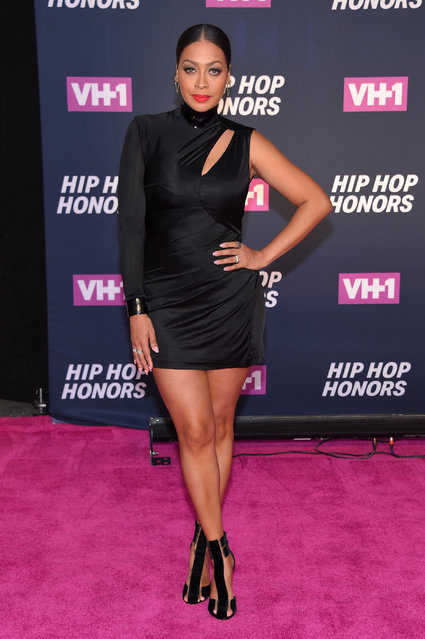 TV Personality La La Anthony attends the VH1 Hip Hop Honors: All Hail The Queens at David Geffen Hall on July 11, 2016 in New York City. (Photo by Michael Loccisano/Getty Images for VH1)