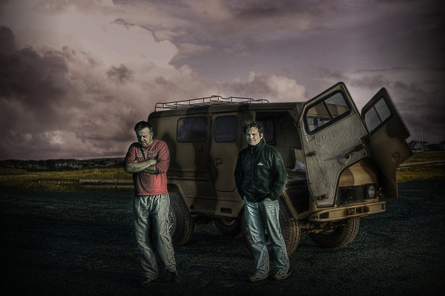 The Blimpmobil at ferkingstad. (Photo by Geir Akselsen)