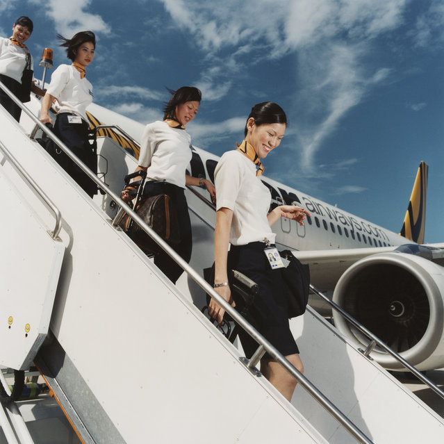 Tiger Airways, Singapore, 2006. (Photo by Brian Finke/The Washington Post)