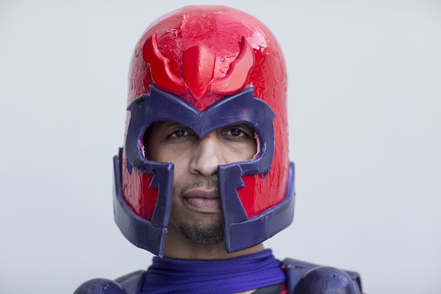Chad North attends New York Comic Con dressed as Magneto from Marvel's X-Men in Manhattan, New York, October 8, 2015. (Photo by Andrew Kelly/Reuters)