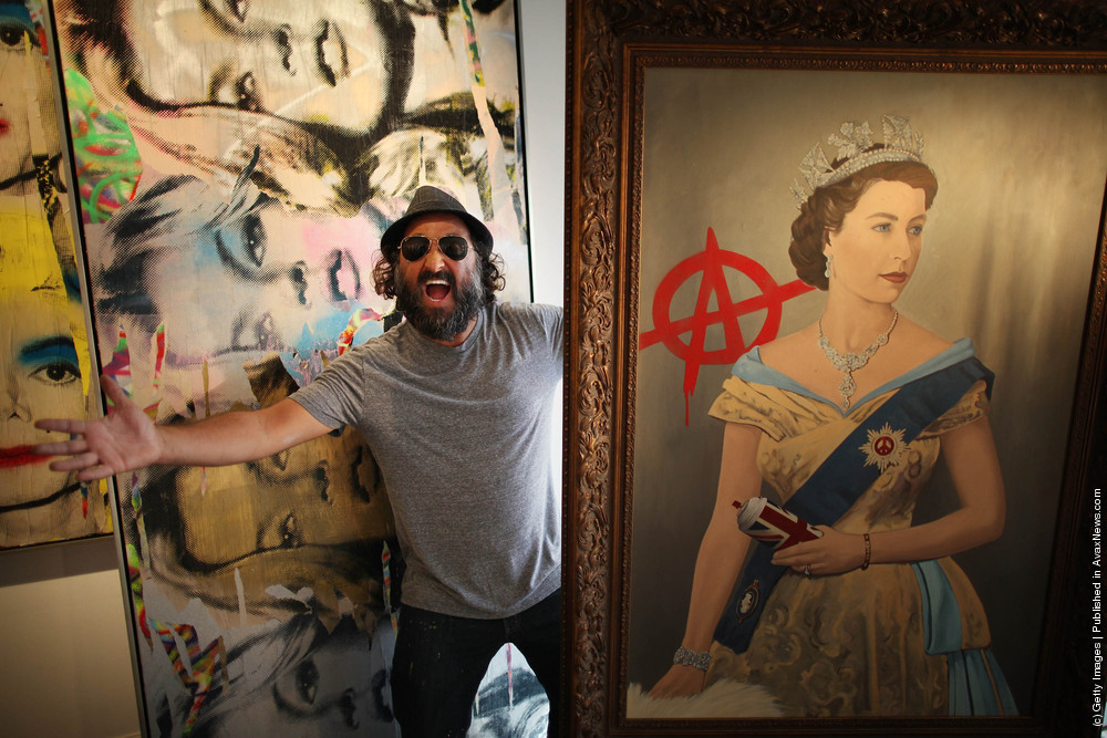 Graffiti Artist Mr. Brainwash's First UK Exhibition