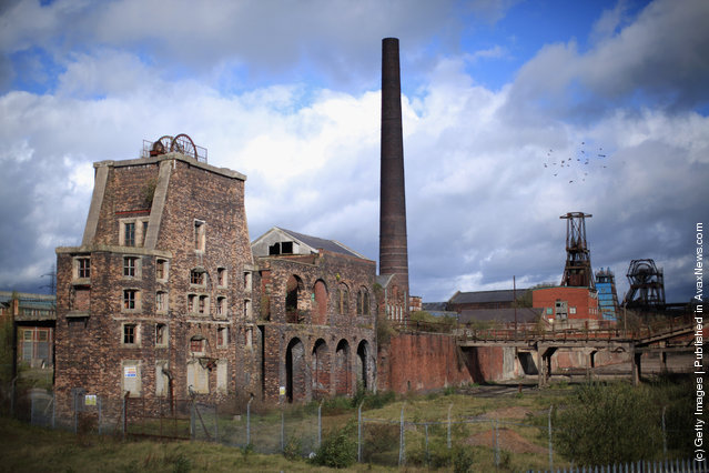A general view of the derelict Chatterley Whitfield Colliery, the most comprehensive surviving deep mine site in England