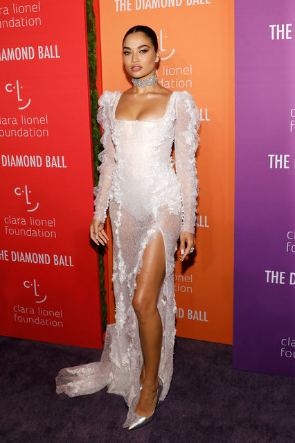 Shanina Shaik attends the 5th Annual Diamond Ball benefiting the Clara Lionel Foundation at Cipriani Wall Street on September 12, 2019 in New York City. (Photo by Taylor Hill/WireImage)