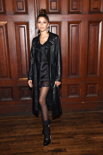 Zendaya attends the Marc Jacobs Spring 2020 Runway Show at Park Avenue Armory on September 11, 2019 in New York City. (Photo by Jamie McCarthy/Getty Images for Marc Jacobs)