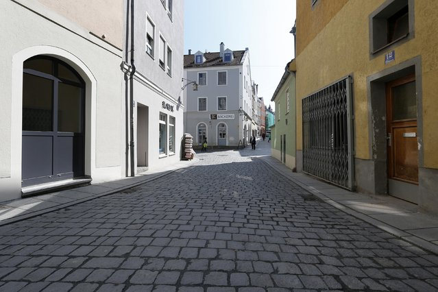 The center of Passau, is pictured May 19, 2014. REUTERS/Michaela Rehle