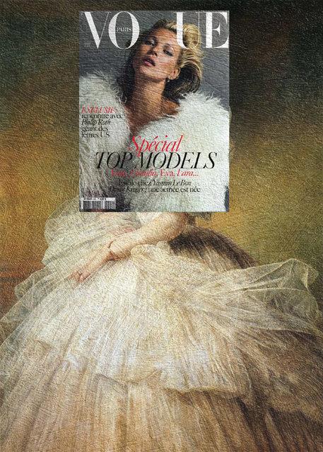 Quirky Magazine covers: Kate fab Vogue. (Photo by Eisen Bernard Bernardo/Caters News)