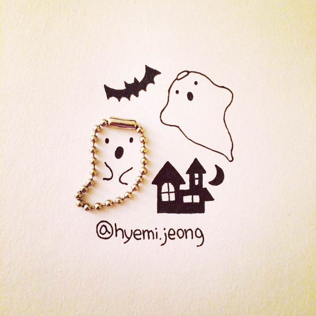 Illustrations From Everyday Objects By Hyemi Jeong Part 1