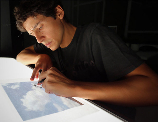 Illustrations Out Of Clouds By Martin Feijoo