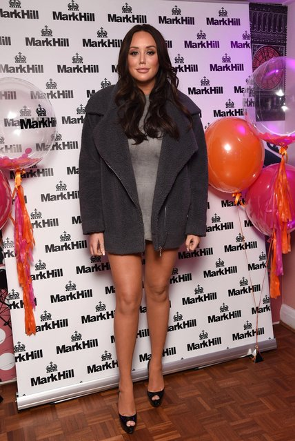 Charlotte Crosby seen attending Mark Hill – International Women's Day event at MV Hispaniola on March 7, 2018 in London, England. (Photo by Goff Photos)