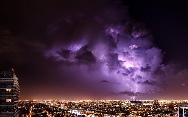 """Glades lightning"". Miami, 2012. (Photo by lostINmia)"