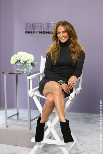 Jennifer Lopez promotes her exclusive fashion and home collection for Kohl's Department Stores at Mohegan Sun