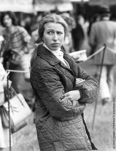 1975: Princess Anne at the Royal Windsor Horse Show