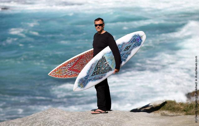 Sydney Artist Exhibits Islamic Inspired Surfboards